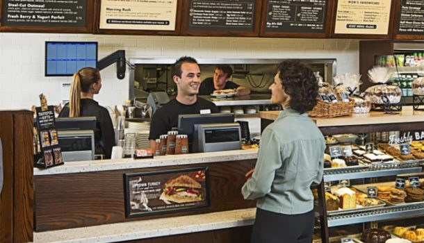 Corner Bakery Cafe Customer Greeting