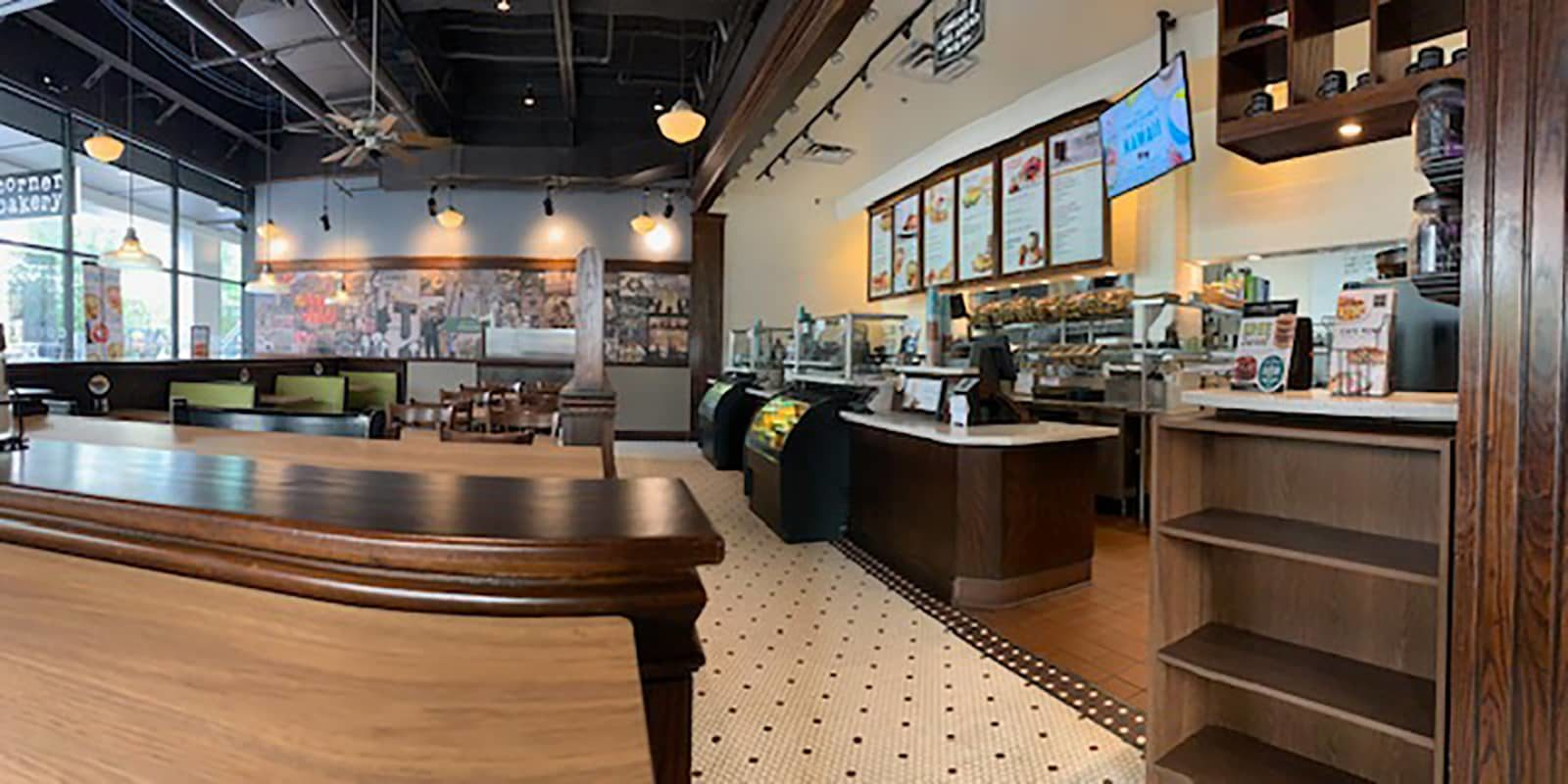 Corner Bakery Cafe Counters