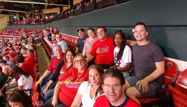 Denny's At Cardinal's Game