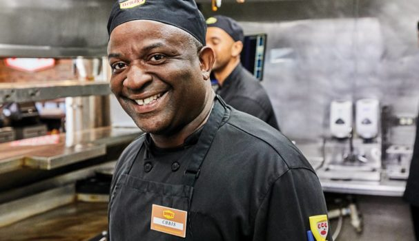Denny's Smiling Chef