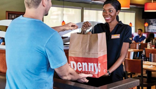 Denny's To-Go Order