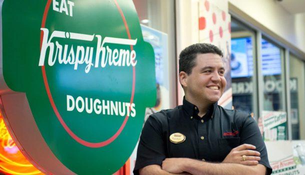 Krispy Kreme Smiling Manager