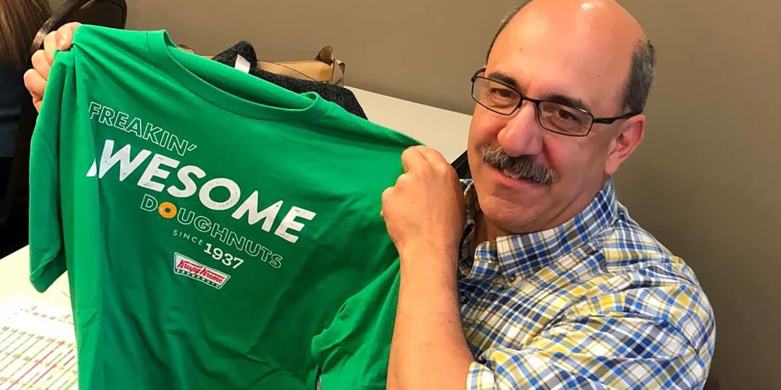 Krispy Kreme Green T-Shirt