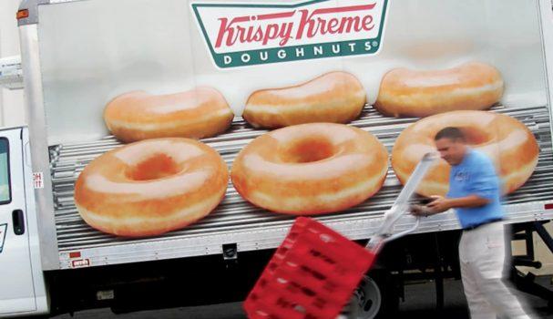 Krispy Kreme Glazed Truck